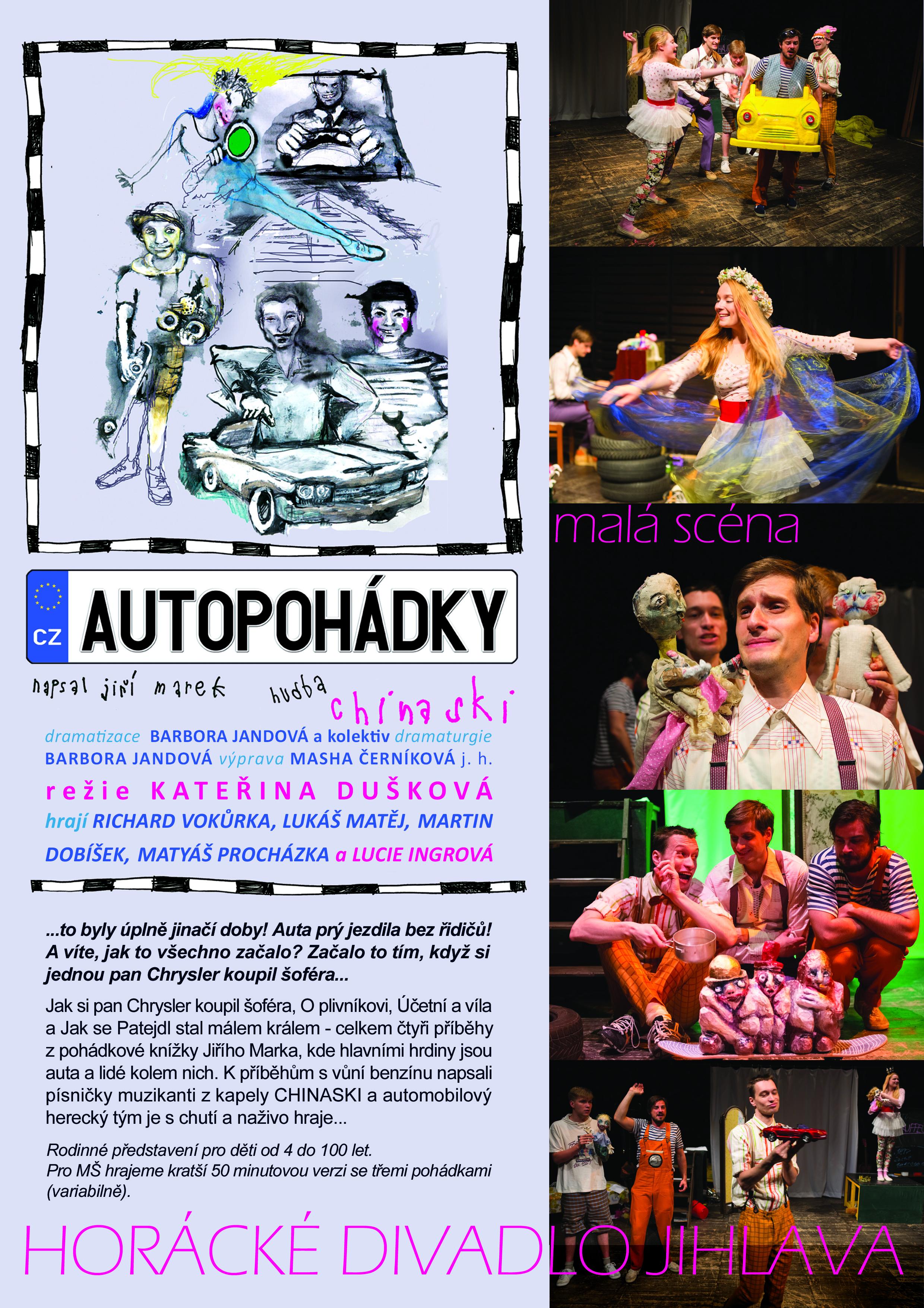 AUTOPOHÁDKY - divadelní představení - Horácké divadlo v Jihlavě