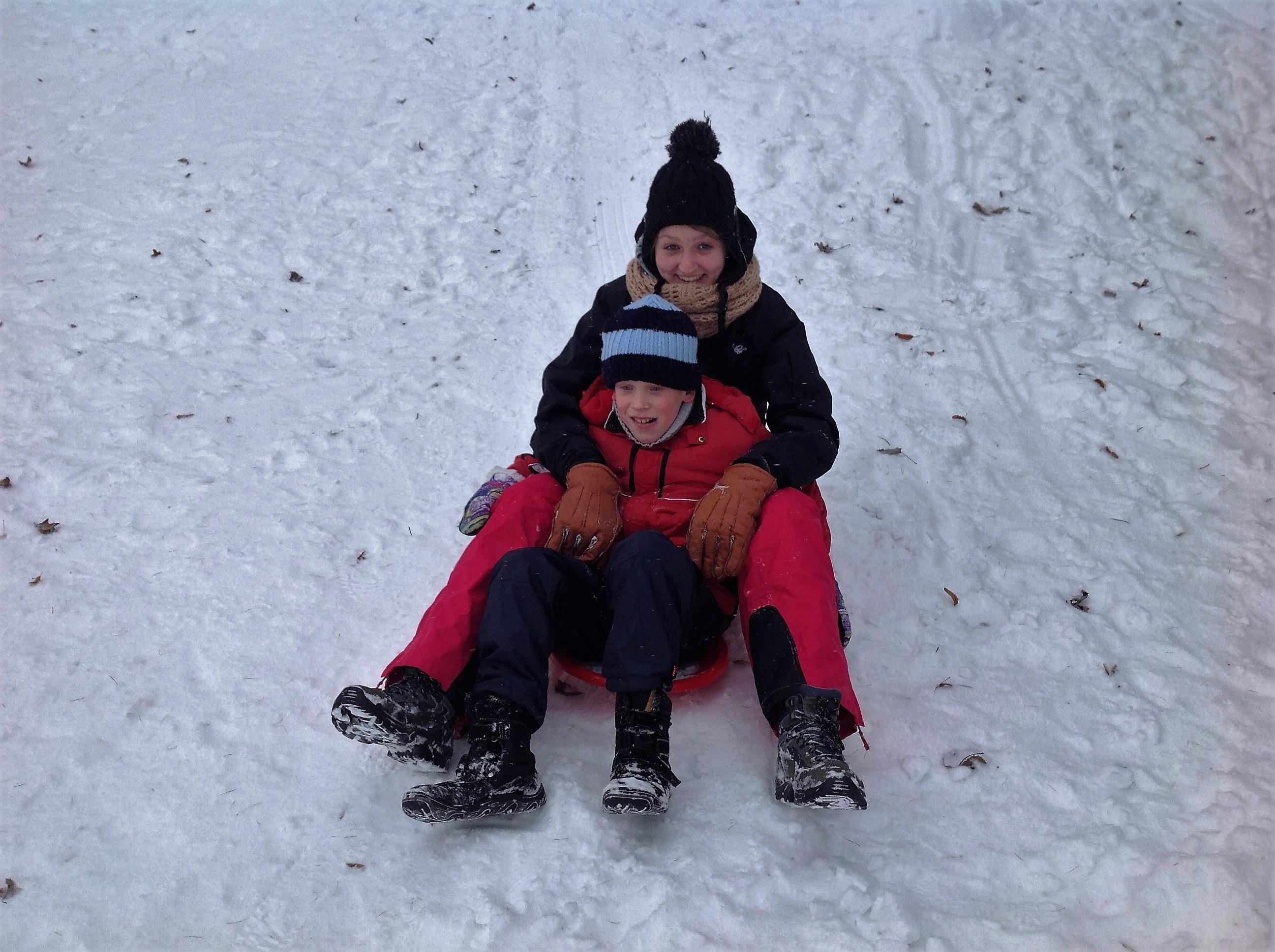 HURÁ - napadl nám sníh!!!