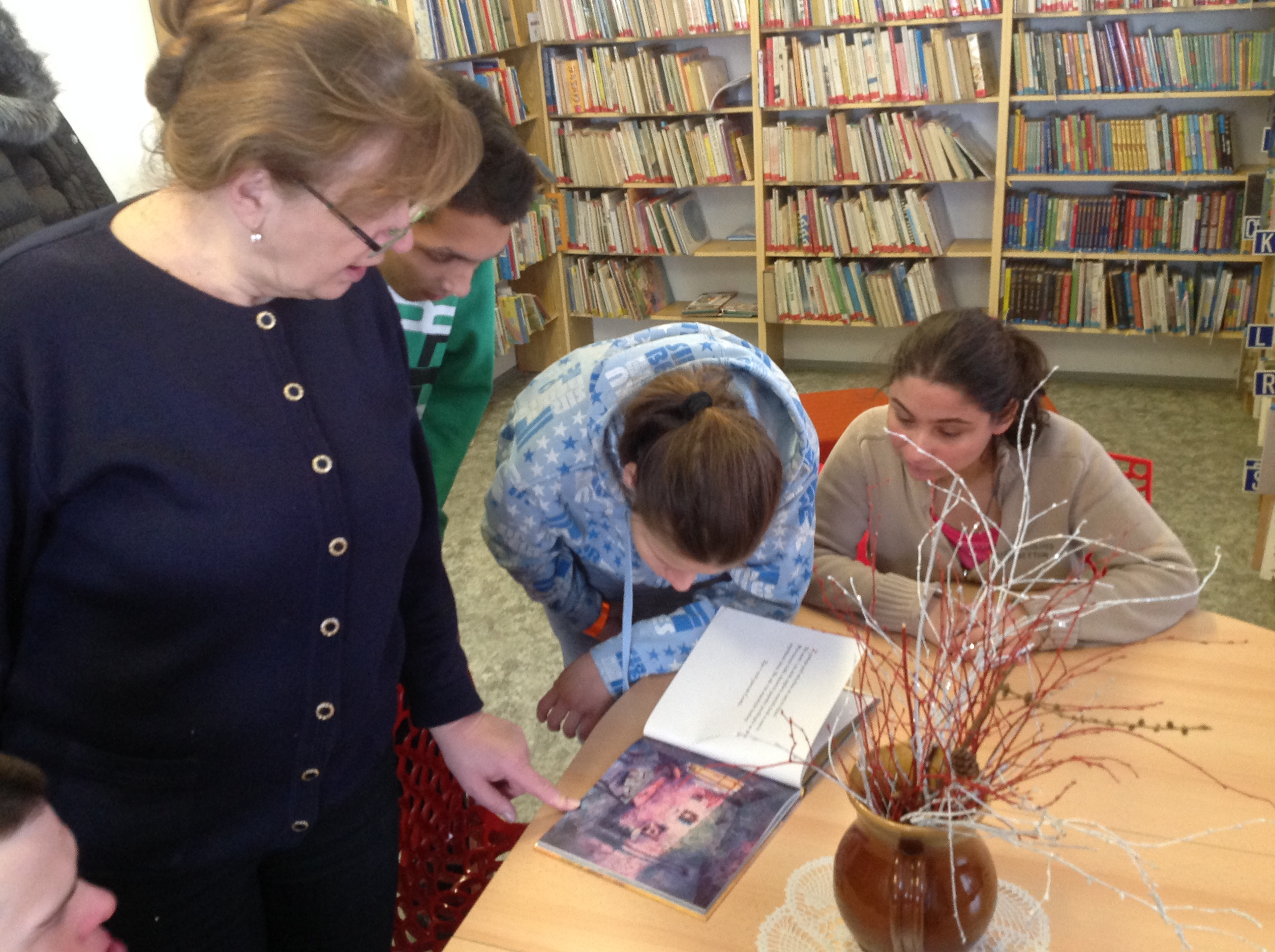 Městská knihovna v Černovicích